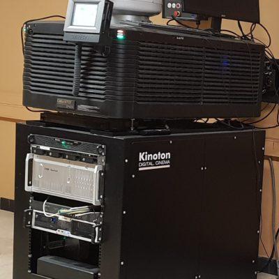 Le nouveau projecteur numérique 4K équipé d'une lampe de 6000 watts pour une projection fabuleuse !