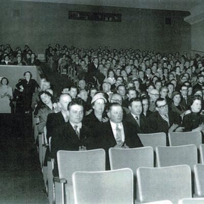 La première projection dans la vaste salle de 681 places.