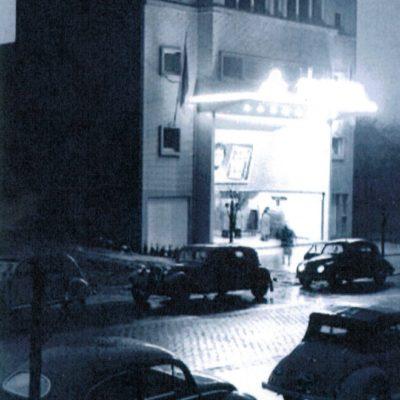 Le cinéma n'a encore aucun bâtiment mitoyen !