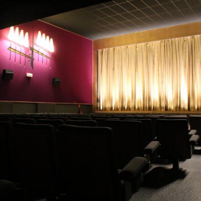 Les luminaires restaurés des années 50' proviennent de l'ancien cinéma Palace de Hannut.